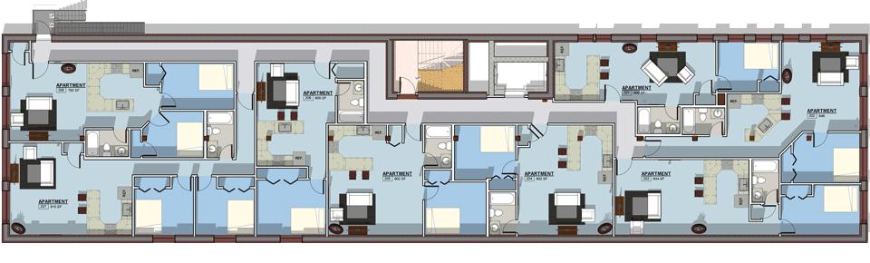 Lofts On Franklin Luxury Loft Apartments In Scranton Pa